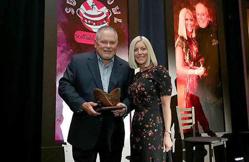 Bob & Renee Parsons Inducted into Scottsdale Hall of Fame
