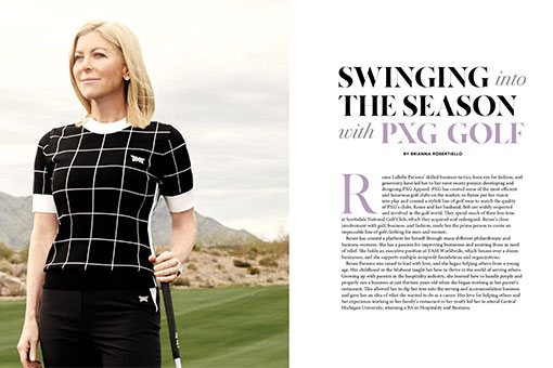 Swinging into the Season with PXG Golf
