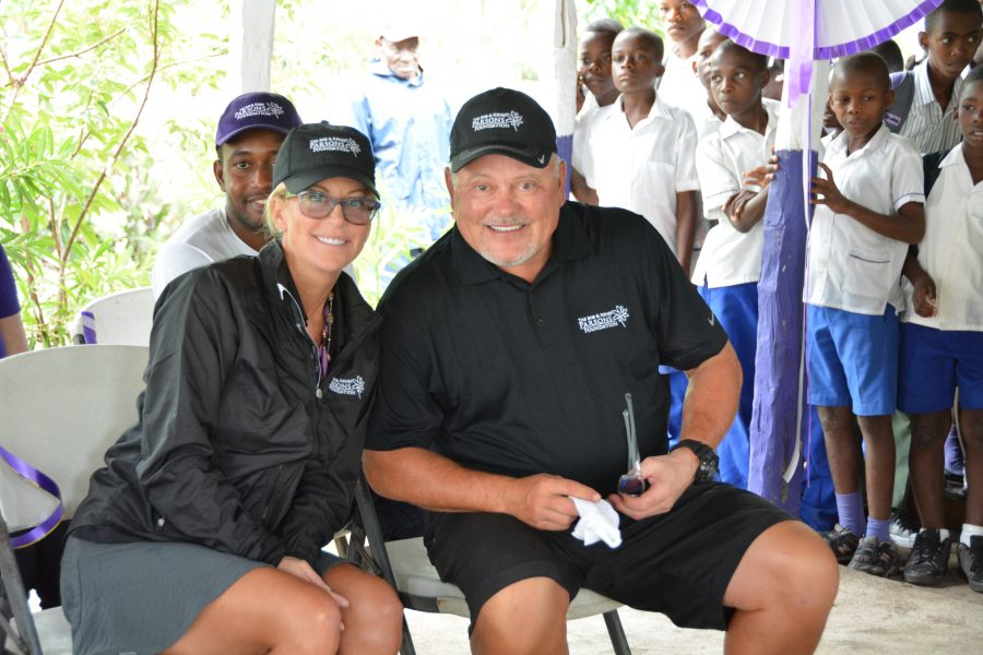 bob and renee parsons in haiti