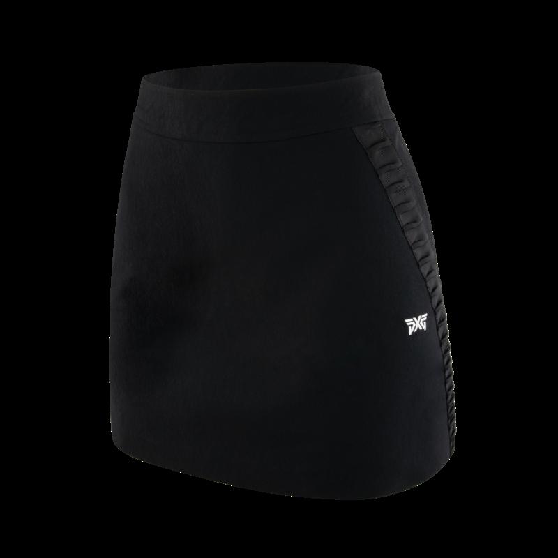 Womens 4 Way Stretch Flare Skirt
