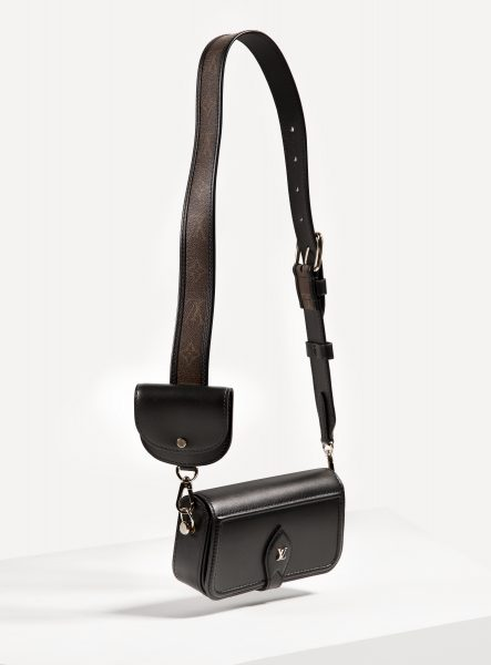 louis vuitton satchel crossbody, brown