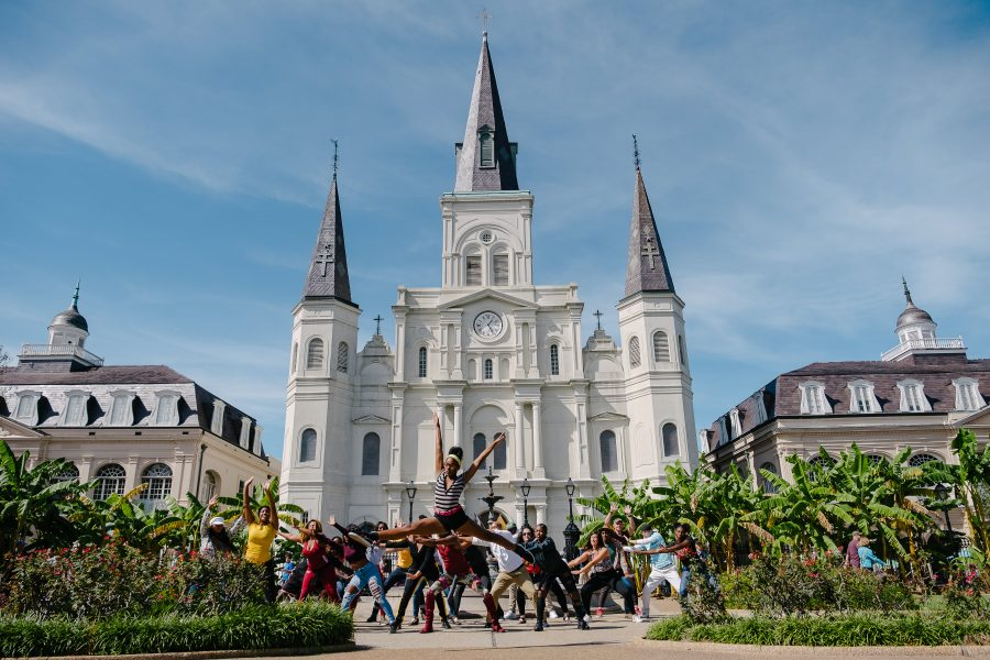 flash mob in new orleans
