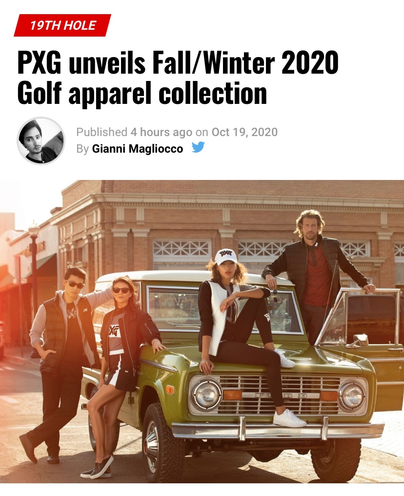 PXG unveils FallWinter 2020 Golf apparel collection – GolfWRX