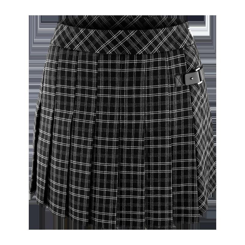 Womens-Pleated-Checker-Skirt-800x800