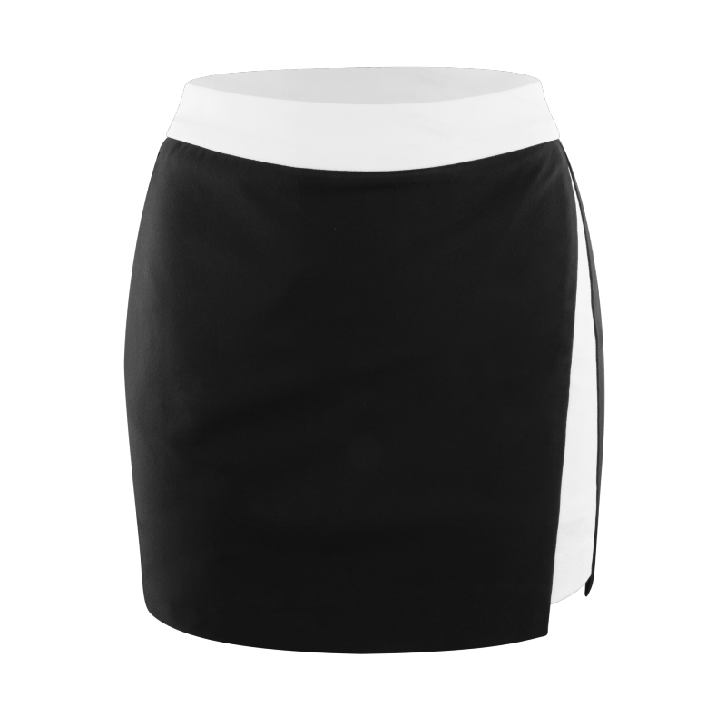 Womens-Two-Tone-Slit-Skirt-Front (1)