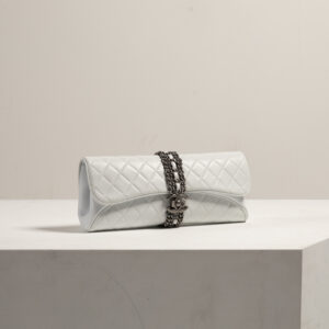 chanel clutch purse, styled by renee parsons