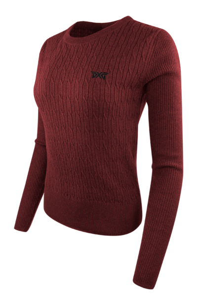 Womens-Cable-Knit-Crew-Neck-Sweater-Deep-Crimson-Product-Listing-1