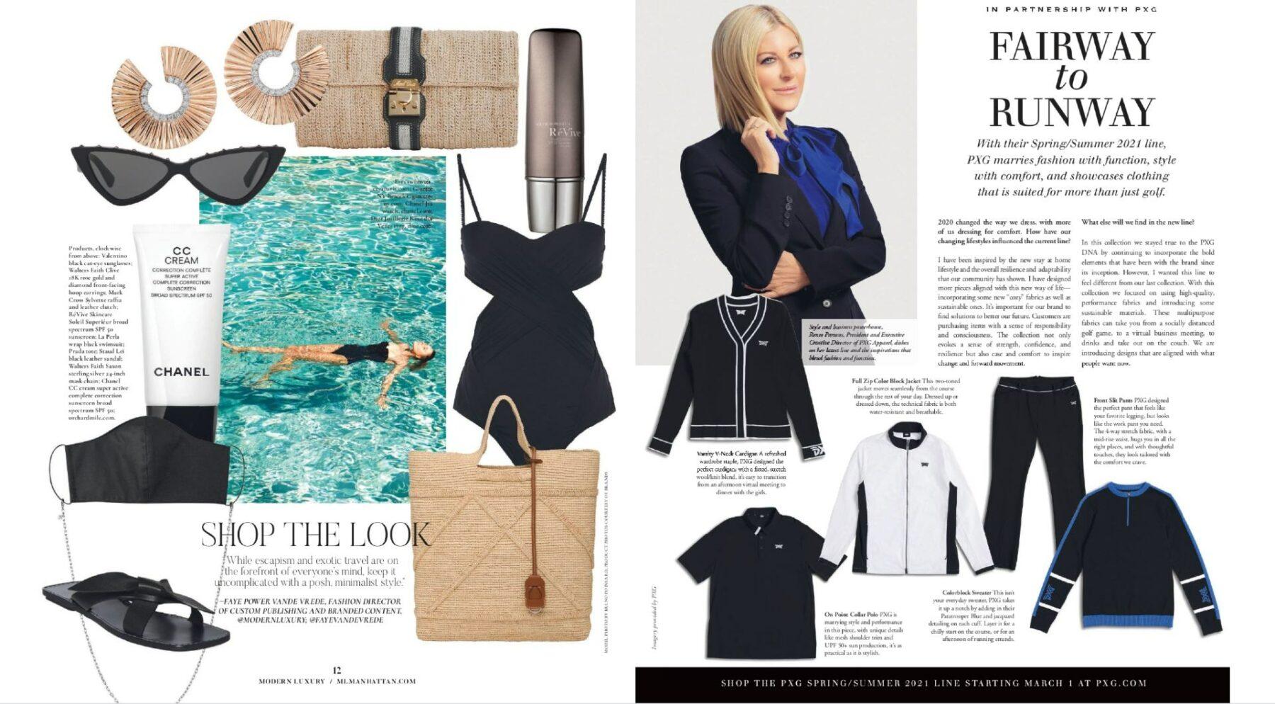 renee parsons modern luxury magazine pxg